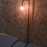 Gebogen Staal Lamp